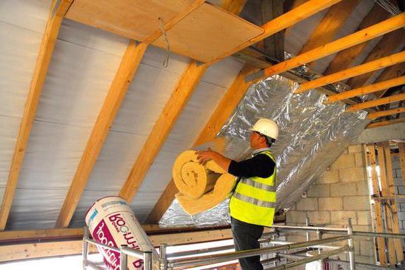 Утеплювач для даху. Основні види і характеристики