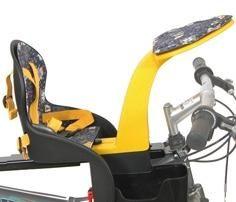 Велокресло для дитини - як вибрати?