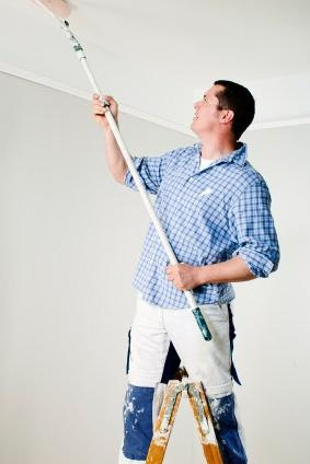 водоемульсійна фарба для стелі
