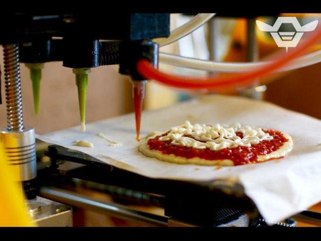 Ви б хотіли спробувати піцу, надруковану на 3d-принтері?