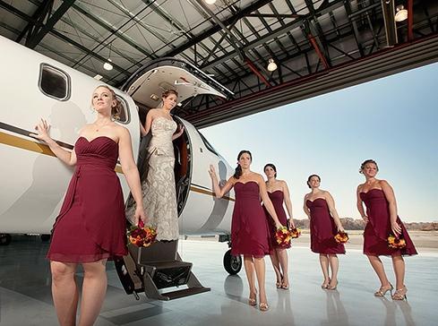 викуп нареченої в стилі авіакомпанії