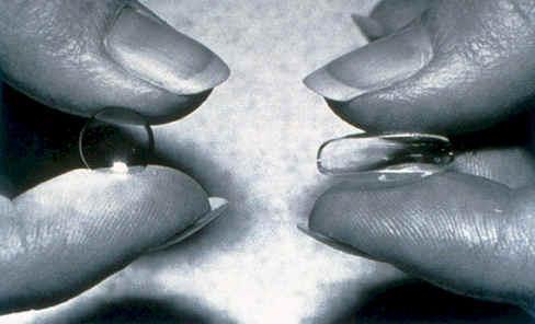 Жорсткі контактні лінзи - прімущество і рекомендації